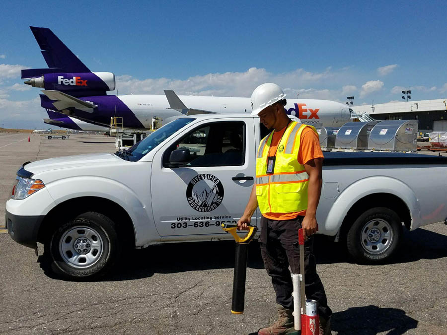 Fault Locating Truck : Utility locating u diversified underground inc